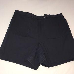 J. Crew high rise navy shorts